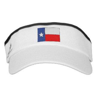 Texas Flag Sketch Visor
