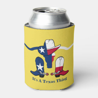 Texas Flag Steer Head With Cowboy Hat and Boots