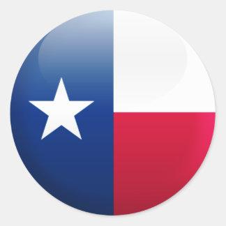 Texas Flag Stickers
