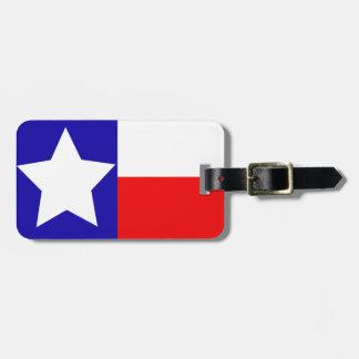 Texas Flag Travel Tag