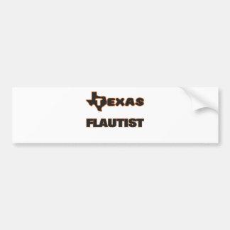 Texas Flautist Bumper Sticker