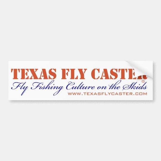 Texas Fly Caster Bummer Sticker