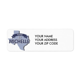 TEXAS FOR MICHELLE -.png Return Address Label