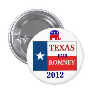 Texas for Romney 2012 Button
