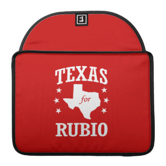 TEXAS FOR RUBIO MacBook PRO SLEEVES
