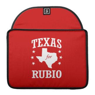 TEXAS FOR RUBIO MacBook PRO SLEEVES