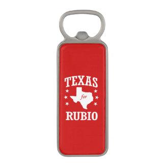 TEXAS FOR RUBIO MAGNETIC BOTTLE OPENER