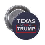 Texas for Trump 6 Cm Round Badge