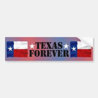 TEXAS FOREVER - Bumper Sticker