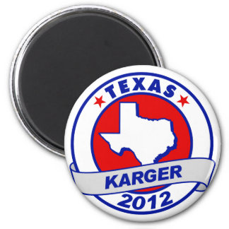 Texas Fred Karger 6 Cm Round Magnet