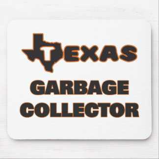 Texas Garbage Collector Mouse Pad