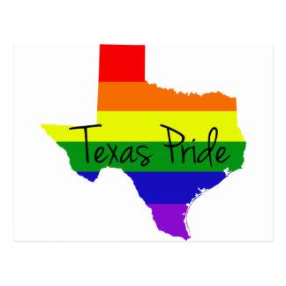 Texas Gay Pride Postcard