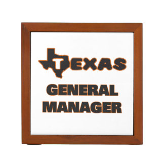 Texas General Manager Pencil Holder