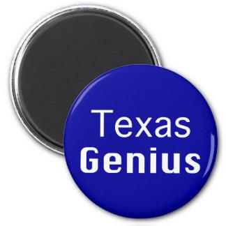 Texas Genius Gifts 6 Cm Round Magnet