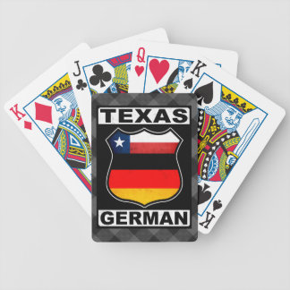 Texas German American Card Deck Bicycle Playing Cards