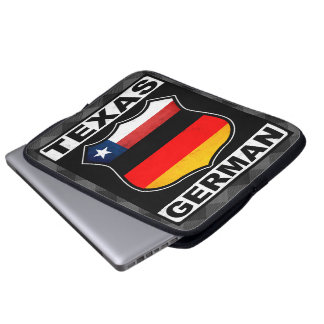 Texas German American Laptop Cover
