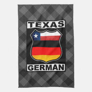 Texas German American Tea Towel