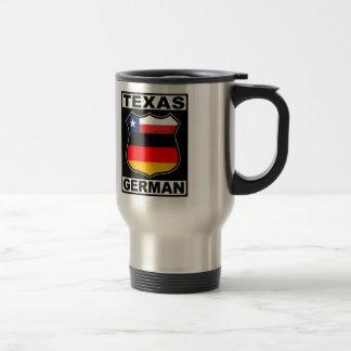 Texas German American Travel Mug