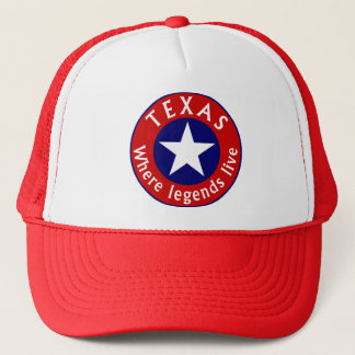 Texas Gimme Cap - Where legends live