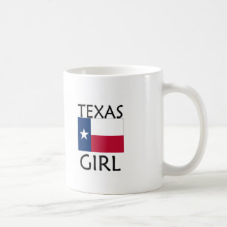 TEXAS GIRL BASIC WHITE MUG