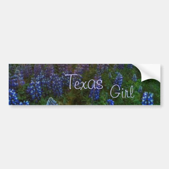 TEXAS GIRL BUMPER STICKER