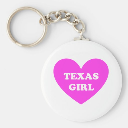 Texas Girl Key Chains