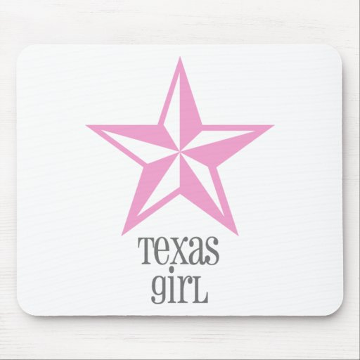 texas girl mouse pads