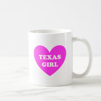 Texas Girl Coffee Mugs