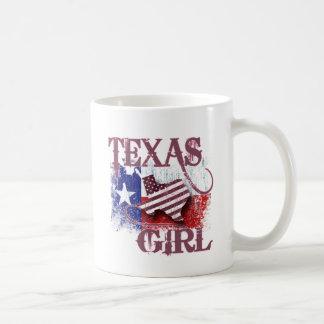 TEXAS GIRL CLASSIC WHITE COFFEE MUG