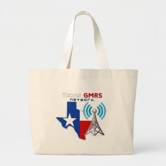 Texas GMRS Network Large Tote Bag