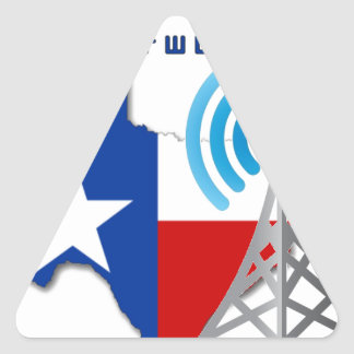 Texas GMRS Network Triangle Sticker