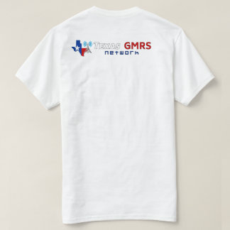 Texas GMRS Network - White T-Shirt
