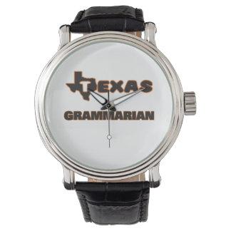 Texas Grammarian Wristwatches