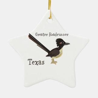 Texas Greater Roadrunner Christmas Ornament
