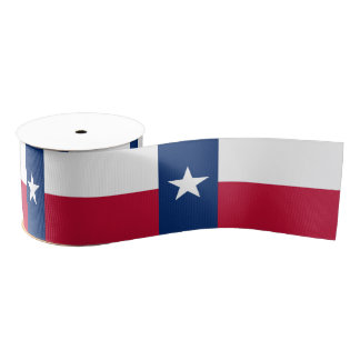 Texas Grosgrain Ribbon