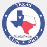 Texas Gun Pro Sticker