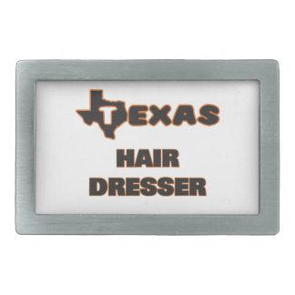 Texas Hair Dresser Belt Buckle