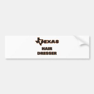 Texas Hair Dresser Bumper Sticker