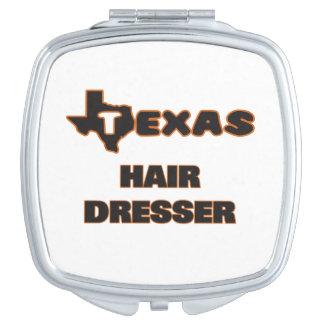 Texas Hair Dresser Compact Mirror