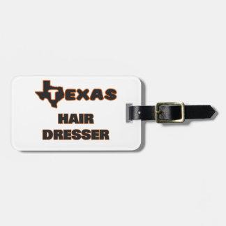 Texas Hair Dresser Tag For Luggage