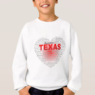 Texas Heart Sweatshirt