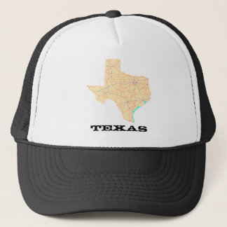 Texas Highways Map Cap