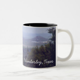 Texas Hill Country Two-Tone Coffee Mug