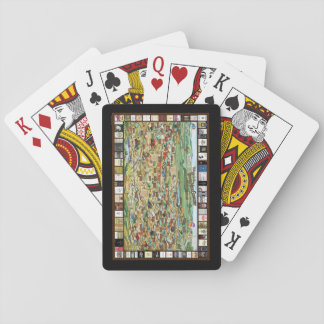 Texas Hill Country Wine Map Souvenir Playing Cards