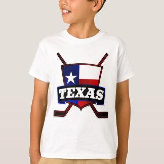 Texas Hockey Flag Logo T-Shirt