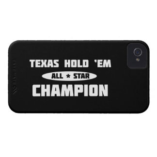 Texas Hold 'Em Champion Case-Mate iPhone 4 Cases