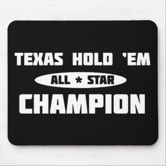 Texas Hold Em Champion Mousepad