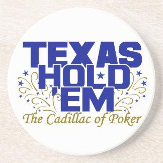 Texas Hold 'Em coaster