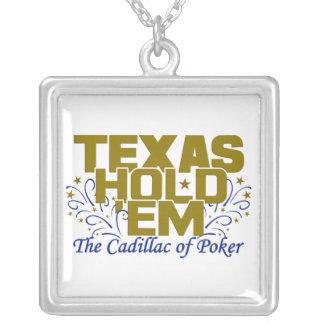 Texas Hold 'Em necklace