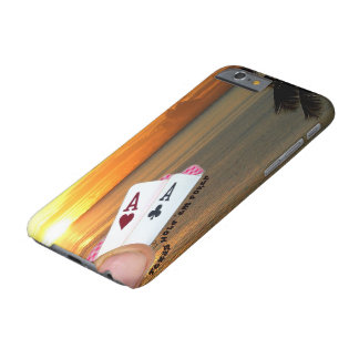 Texas Hold 'em Poker - Aces Over Water Barely There iPhone 6 Case